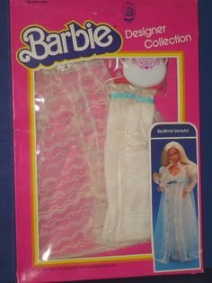 Barbie Doll Bedtime Beauty Lingerie Outfit MIB Designer Collection 1983 | eBay
