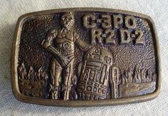 Collectable Star Wars Belt Buckle 1977 by ShopGlammasAttic on Etsy, $35.00