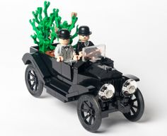 ~ Lego MOCs City ~ LEGO Ideas - Stanley Laurel & Oliver Hardy in a Ford Model T