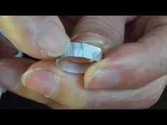 textured anticlastic spinner ring - YouTube