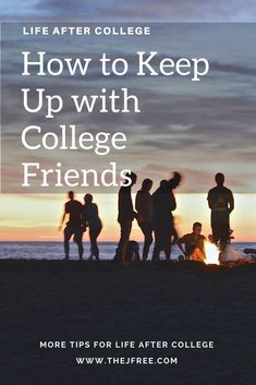 Tips for recent graduates! How I have been keeping up with friends since graduation! College Hacks, College Life, Life Advice, Career Advice, Friendship Articles, After College, Happy Love, Freshman Year, Keep Up