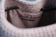 Crochet Bucket Bag ɕ Powder Pink Bag ɕ All Season Bucket Bag ɕ