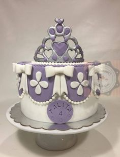 BOLO PRINCESA SOPHIA - TORTA PRINCESA SOPHIA - OPHIA PRINCESS CAKE