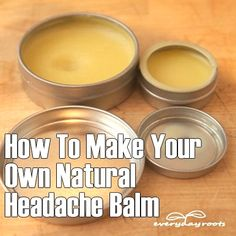 """Your Own """"Soothing Roots Balm"""" for Headache Relief ❤ An awesome and easy natural formula, click the link to learn how it's made. ❤❤ An awesome and easy natural formula, click the link to learn how it's made. Home Remedies For Arthritis, Natural Home Remedies, Natural Healing, Holistic Healing, Headache Remedies, Herbal Remedies, Health Remedies, Cold Remedies, Headache Relief"""