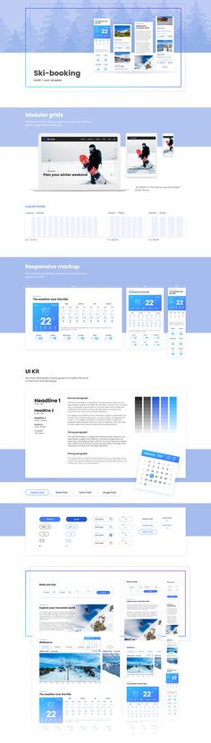 From the first moment, your visitor will break into a winter sports atmosphere! The template is ideal for ski resorts. #sportlandingpage #bookingwebsite #landingpageexamples Landing Page Examples, Best Landing Pages, Page Template, Templates, Ski Resorts, Winter Sports, Skiing, Minimal, In This Moment