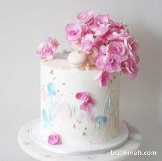 New Cake Designs Birthday Women Sweets Ideas New Cake Design, Cool Cake Designs, Cake Cookies, Cupcake Cakes, Sweets Cake, Cupcakes, New Birthday Cake, Birthday Bash, Birthday Wishes
