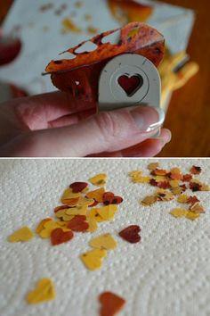 diy deco mariage de feuilles oranges, themes mariage de feuilles oranges