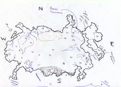 pencil fantasy map forests - Google Search