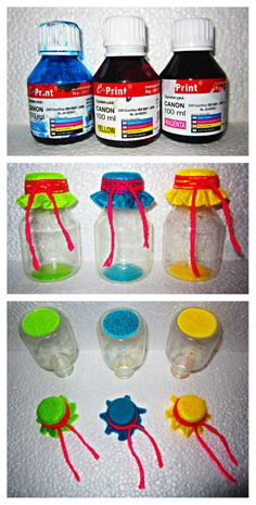 DIY : recycle bottle by Fely Komul