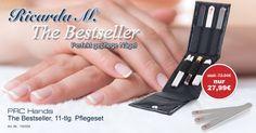 Für perfekt gepflegte Nägel im French Manicure Look. www.ricardam.com