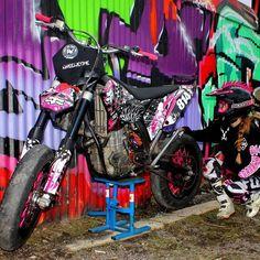 Bike Od Miss Saaraazh From Sweden  #WheelieTime #Sweden