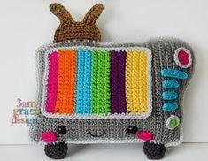 Television Kawaii Cuddler™ Crochet Pattern