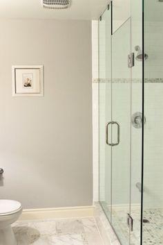 Tile in Bottom of Shower