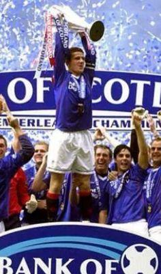 Barry Ferguson Glasgow Rangers