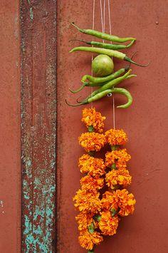 Lucky charm, Fountainhas, Panjim, Goa, India  by Niall Corbet