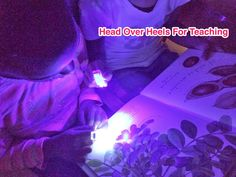 Head Over Heels For Teaching: Spark Student Motivation: Finger Flashlights!!