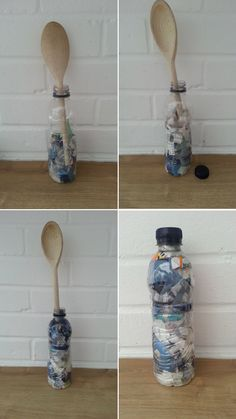 Ecobricks – How to Reuse Your Non-Recyclable Plastic Waste – Tea & Cake For The Soul How To Recycle Plastic, Plastic Waste Recycling, Diy Recycle, Plastic Bottle House, Plastic Bottle Crafts, Recycled Bottles, Recycle Plastic Bottles, Diy Upcycled Decor, Recycled Mats