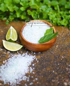 #diy mojito bath salts