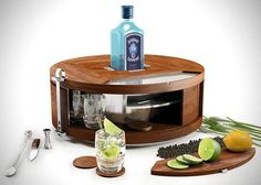 BOMBAY SAPPHIRE GIN WHEEL. Read more at Lifeclad.com