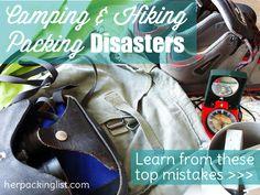 camping & hiking packing