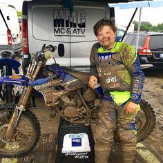 Love the mud!  grymt @wizmxjr #Repost @wizmx 13e plats totalt idag i geggan. Grym körning. #wizmx #mmgmcatv #yamaha#dwbtoftshit #mtlsuspension #ndmx#skinnymedia #yamalube #gytr #scott #mx#moto #motocross #mxsyd #skivarp#braap #gegga