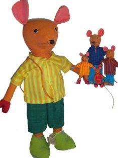 Mice Family...adorable,hugable, and makes a great friend,,,,,The Barefoot range by Barbara Sansoni