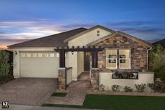Segretto Model Home Exterior Photography of Plan 2311 Arizona, Kb Homes, Single Story Homes, Phoenix Homes, Interior Decorating, Interior Design, New Home Builders, New Homes For Sale, Model Homes