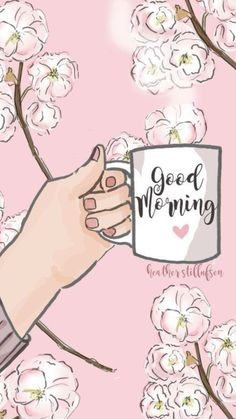 Our social Life Good Morning Greetings, Good Morning Wishes, Good Morning Quotes, Girly Wallpaper, Iphone Wallpaper, Tea Quotes, Hello Weekend, Good Morning Coffee, Foto Art