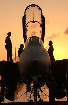 F-14 at day break