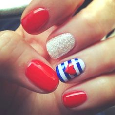 10 Patriotic Nails For The Fourth Of July