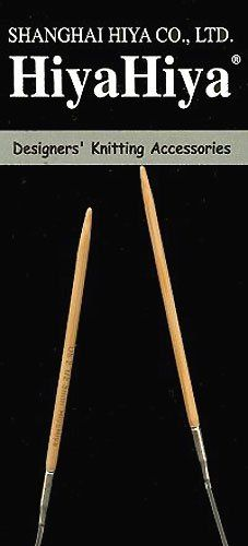 HiyaHiya Circular 16inch 41cm Bamboo Knitting Needle Size US 15 25mm HIBCIR1615 * Check out the image by visiting the link.Note:It is affiliate link to Amazon.