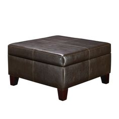 As stylish as it is versatile, this Dorel Living Square Storage Ottoman enhances your living room in more ways than one. This large scaled ottoman. Living Room Storage, My Living Room, Storage Spaces, Living Room Furniture, Living Room Decor, Table Storage, Toy Storage, Office Furniture, Black Ottoman