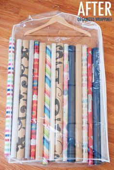Brilliant Gift Bag Storage! I Knew Someone Out There Would Have Thought Of  Some Way To Do This! | Organization | Pinterest | Gift Bag Storage, ...