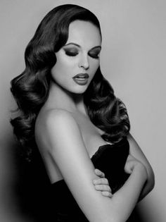Pin up hairstyles for long hair More