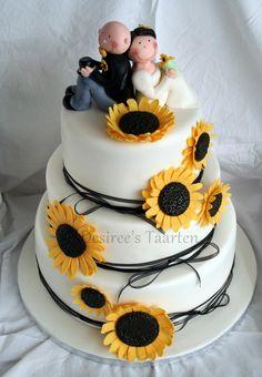 Wedding cake inspiration : I find this super duper cute!!