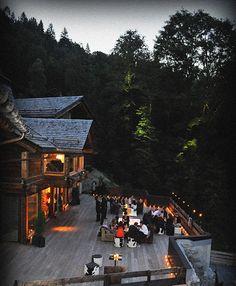 Fantastic deck which could hide an indulgant spa area - Les Granges d'En Haut