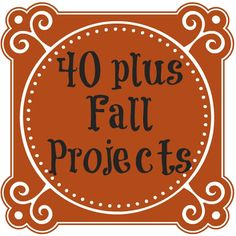 Fall Decor and Crafts ~ * THE COUNTRY CHIC COTTAGE (DIY, Home Decor, Crafts, Farmhouse)