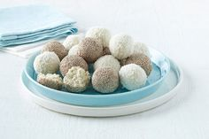 The bliss ball has been one of the hottest food trends of the past couple of years, driven by our desire to eat healthier but still enjoy snack times. Traditionally, bliss balls are made with dried fruit, such as dates, blitzed with almond and cacao. But these banana snack balls combine fresh banana with PHILADELPHIA Original Spreadable Cream Cheese™ and coconut, for a fresh, creamy twist.