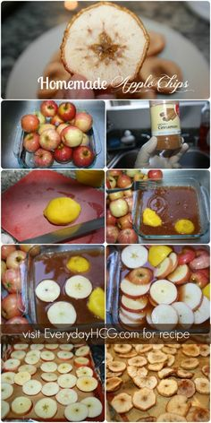 Homemade Apple Chips – The Perfect Fall Recipe #HCG