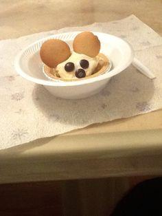Fun Food Kids Ice Cream Mouse vanilleeis eis oreos kekse maus mickey micky cute niedlich einfach dessert easy