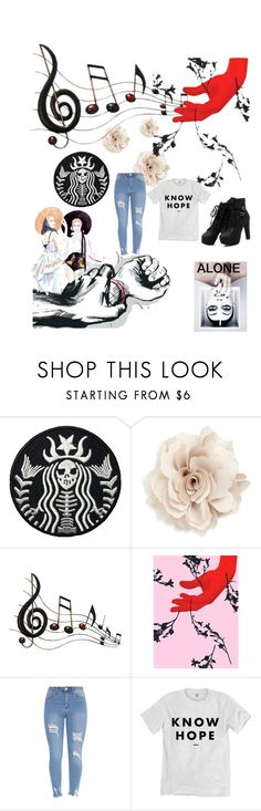 """""""feeling lonely"""" by becksrose ❤ liked on Polyvore featuring Cara, Benzara and Jules Julien"""