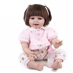 Smile Girl Baby Dolls Realistic Baby Toys