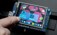 LCD Touchscreen para Raspberry Pi