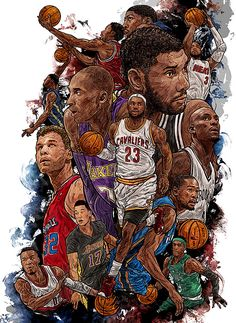 A wrap up of this NBA season with the extraordinary art of Kim MinSuk (김민석)…