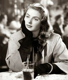 Ingrid Bergman in For Whom The Bell Tolls, 1943