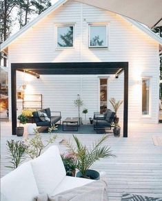 15 saker du kan bygga in i altanen Outdoor Pergola, Outdoor Spaces, Outdoor Living, Outdoor Decor, Jacuzzi Outdoor, Balcony Plants, Victory Garden, Backyard, Patio