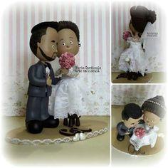 Noivinhos personalizados #Ébiscuit #ColdPorcelain #PorcelanaFria #casamento #casório #festa #decoração #topodebolopersonalizado #amor #Toposdebolo ♥ Orçamentos cacauphn@hotmail.com ♥ Watsap 11 984775720 ♥ www.biscuitdacacau.com.br ♥ Feito com carinho!