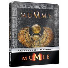 Blu-ray Mumie (1999), The Mummy (1999), UHD + BD, Steelbook, CZ dabing | Elpéčko - Predaj vinylových LP platní, hudobných CD a Blu-ray filmov Sci Fi Fantasy, Indiana, Egypt, Movies, Movie Posters, Films, Film Poster, Cinema, Movie