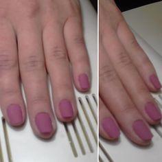 #ногти #гельлак #матовыйтоп
