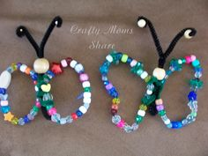Butterfly Bead Craft